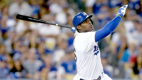 Yasiel Puig (23) – Los Angeles Dodgers
