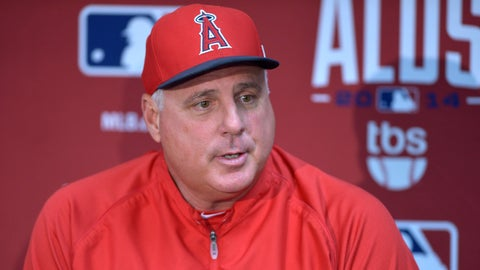 Los Angeles Angels: Mike Scioscia