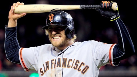 No. 1: 'Captain Underpants' – Hunter Pence, Outfielder, Giants
