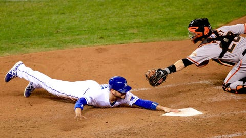 Game 6 around the bases