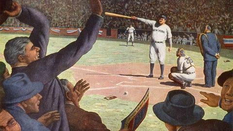 Babe Ruth calls his shot
