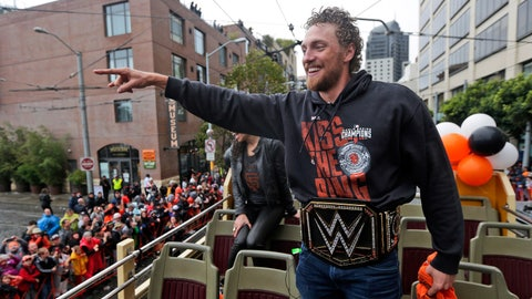 Best shots from the Giants' 2014 World Series championship parade