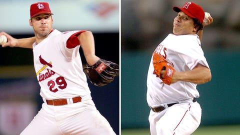 2005: Chris Carpenter, Cardinals & Bartolo Colon, Angels