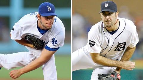 2011: Clayton Kershaw, Dodgers & Justin Verlander, Tigers