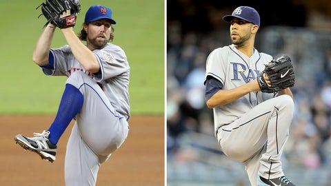 2012: R.A. Dickey, Mets & David Price, Rays