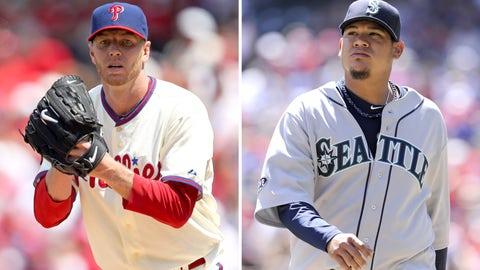 2010: Roy Halladay, Phillies & Felix Hernandez, Mariners