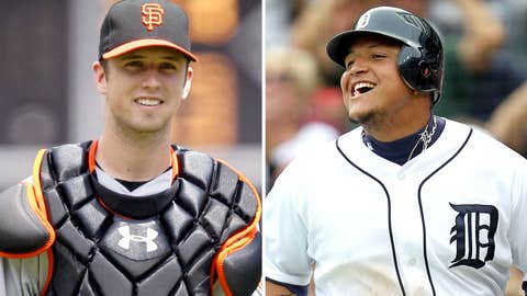 2012: Buster Posey, Giants & Miguel Cabrera, Tigers