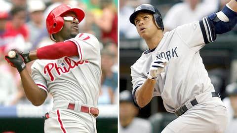 2007: Jimmy Rollins, Phillies & Alex Rodriguez, Yankees