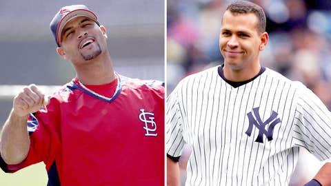 2005: Albert Pujols, Cardinals & Alex Rodriguez, Yankees