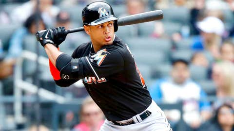 1. Giancarlo Stanton strikes it rich with Marlins
