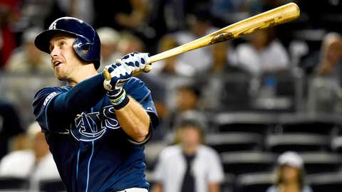 Tampa Bay Rays: 1. Evan Longoria — 205 HRs