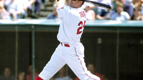 Cleveland Indians: 1. Jim Thome — 337 HRs