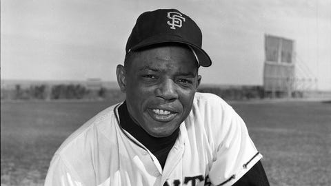 San Francisco Giants: 1. Willie Mays — 646 HRs
