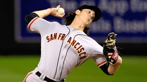 Tim Lincecum, P, San Francisco Giants