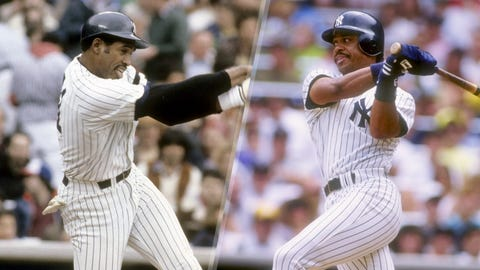 1990: Dave Winfield is replaced by Jesse Barfield