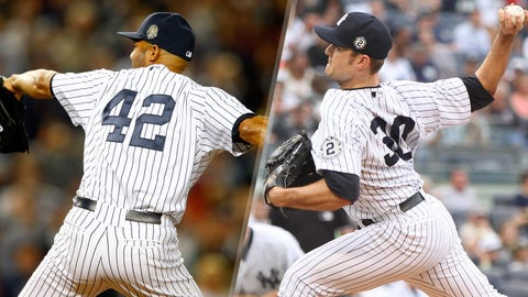2014: Mariano Rivera is replaced by David Robertson