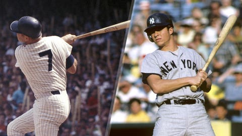1969-70: Mickey Mantle is replaced by Bobby Murcer