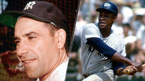 1960: Yogi Berra is replaced by Elston Howard