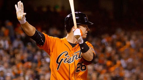 3. Buster Posey, C, San Francisco Giants (.314, 14 HR, 14 2B, 58 RBI)