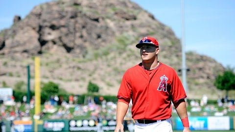 Mike Trout, OF, Angels (Tempe, Ariz.)
