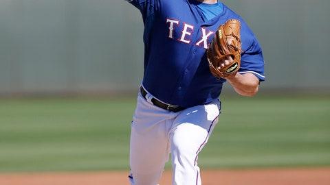 Colby Lewis, P, Rangers (Surprise, Ariz.)