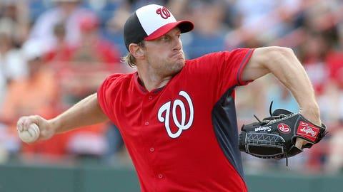 Starting pitchers: Max Scherzer, Nationals; Cole Hamels, Phillies