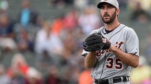 Justin Verlander, SP, Detroit Tigers