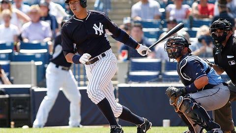 Alex Rodriguez, DH, Yankees