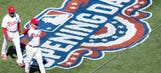 Red Sox vs. Phillies Opening Day photo gallery