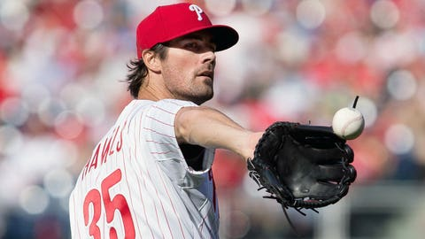 Low: Hamels shellacked on Opening Day (4/6)