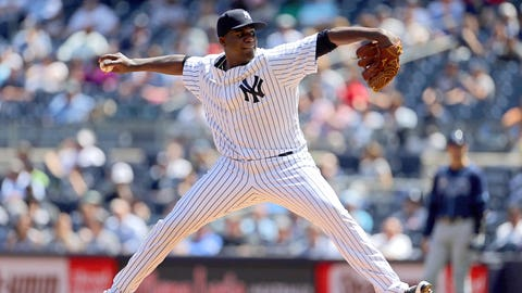 Pineda almost perfect