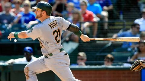 11. Stephen Vogt, C, Oakland A's (.287, 14 HR, 56 RBI)