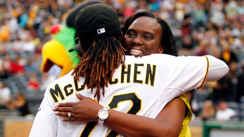 April 30 – McCutchen's 1,000th career hit