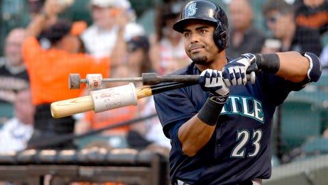 9. Nelson Cruz, OF, Seattle Mariners (.308, 21 HR, 13 2B, 53 RBI)