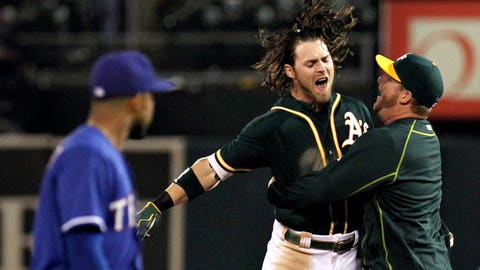 June 10: Reddick gives A's lone walk-off win
