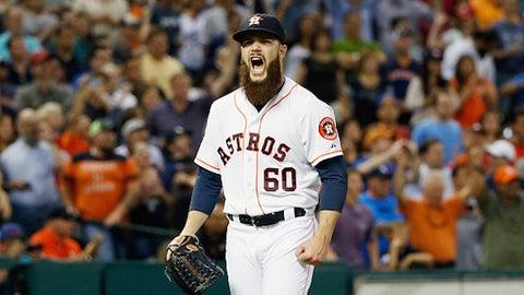 14. Dallas Keuchel, SP, Houston Astros (11-4, 2.23 ERA, 114 SO, 137.1 IP, 2 CGSO)