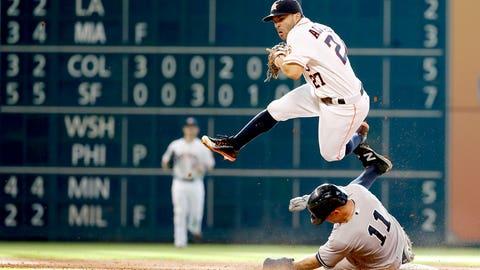 Second base: Jose Altuve - Astros