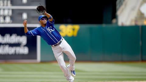Shortstop: Alcides Escobar - Royals