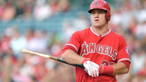 Outfield: Mike Trout - Angels