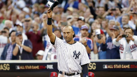 Jeter says goodbye: July 15, 2014 at Target Field in Minneapolis
