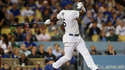 Yasiel Puig, OF, Dodgers