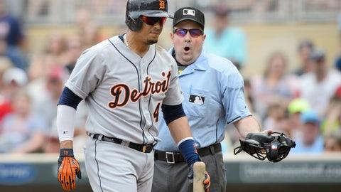 Victor Martinez, Tigers, -1.8 WAR