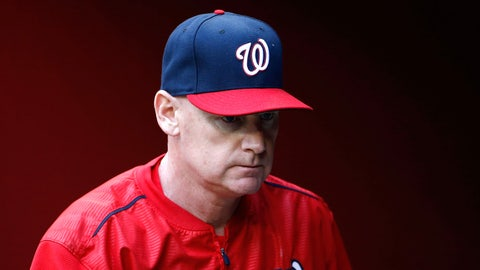 Low: Nats fire Williams after two seasons (Oct. 5, 2015)