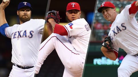 Rangers: The rest of the rotation