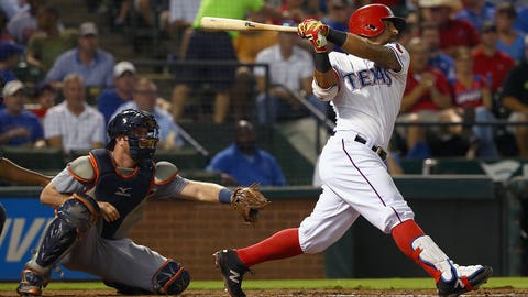 Rangers: The emergence of a young bat