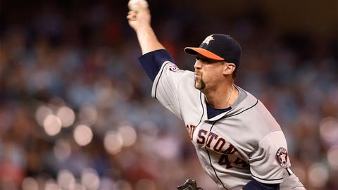 Astros: A rested bullpen