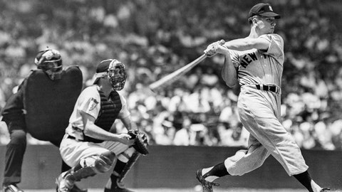 Mickey Mantle. New York Yankees vs. St. Louis Cardinals, Game 3, 1964: