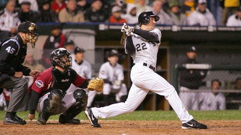 Scott Podsednik. Chicago White Sox vs. Houston Astros, Game 2, 2005: