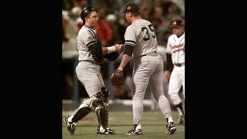 Jim Leyritz: 1996 World Series, Game 4