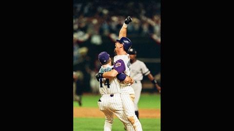 Luis Gonzalez: 2001 World Series, Game 7